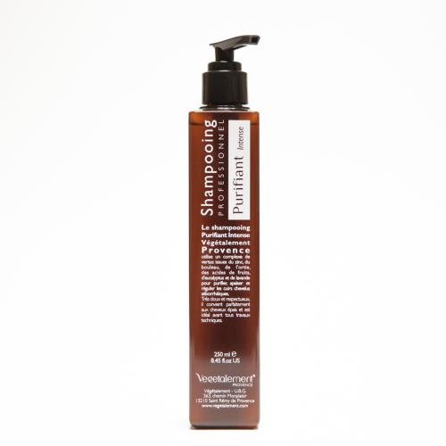 Shampooing organique purifiant intense